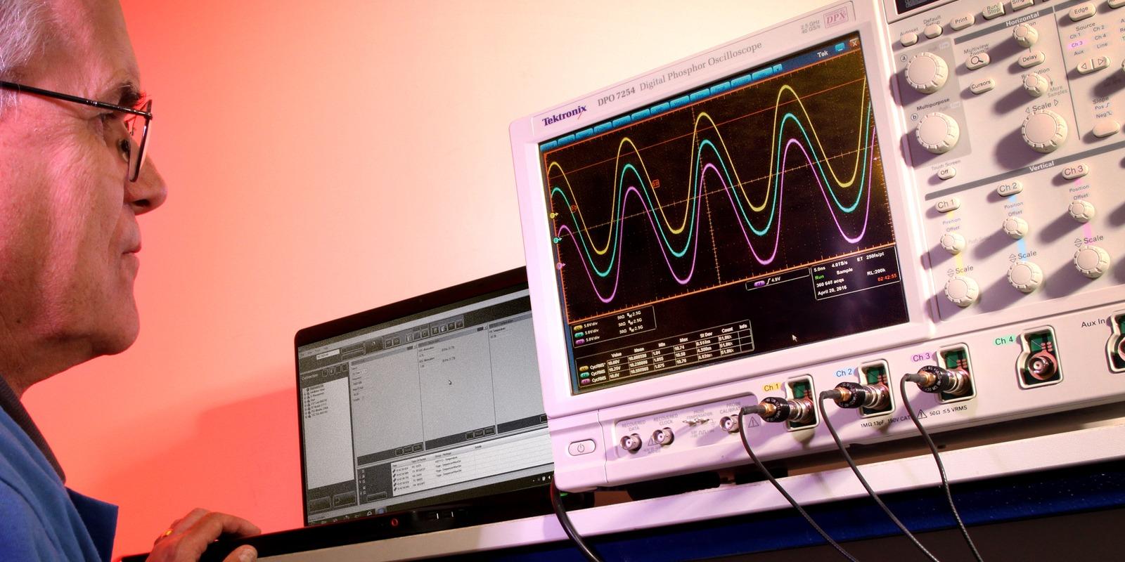 Interconics JTAG testing